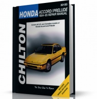 HONDA ACCORD - HONDA PRELUDE (1984-1995) CHILTON
