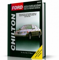 LINCOLN COUPES AND SEDANS (1988-2000) CHILTON